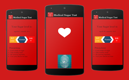 Medical Sugar Scanner Prank - screenshot