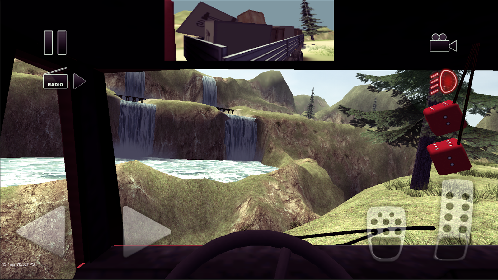 Truck Driver crazy road Screenshot 3