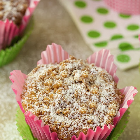 5-Star Banana Crumb Muffins w/ Fresh Pineapple & Coconut
