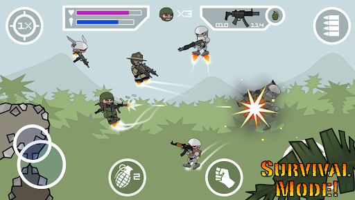 Doodle Army 2 : Mini Militia screenshot 8