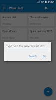 Screenshot of Wiseplay