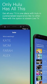 Hulu: Watch TV & Stream Movies APK screenshot thumbnail 1