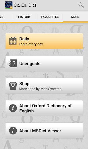 OfficeSuite Oxford Dictionary screenshot 5