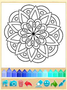 Mandala Coloring Pages APK for iPhone