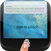 Free iLocker: Finger LockScreen OS10 with Notifications APK for Windows 8