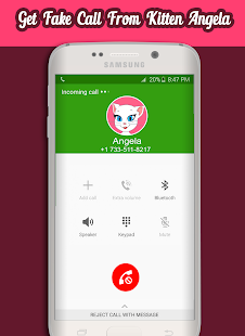 Call From Talking Angela