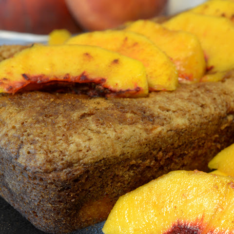Brandy Peach Bread