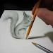 3D Drawing Art Design Icon