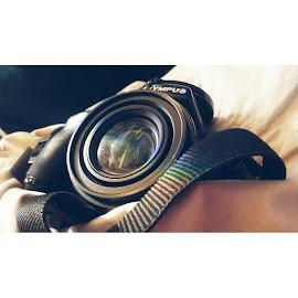 Best friend on trips by Helena Křivánková - Instagram & Mobile Android ( #rainbow, #instagram, #camera, #olympus, #artistic,  )