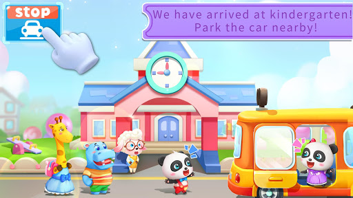 Drive Amazing BabyBus -Baby Panda's School Bus For PC