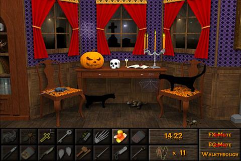 haunted halloween escape apk screenshot