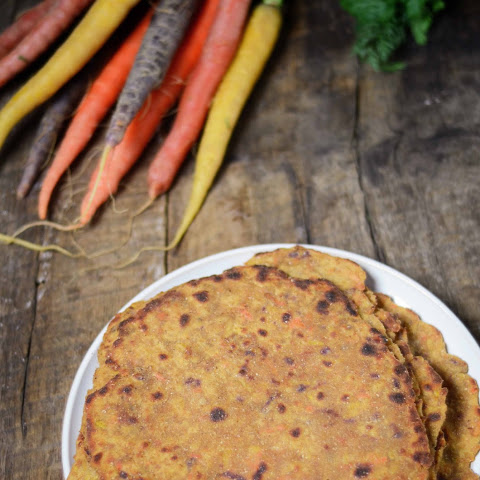 Carrot-stuffed Amaranth And Whole-wheat Flat-bread