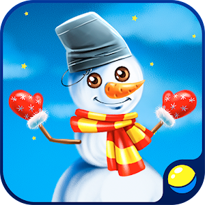Winter game: Your own snowman!