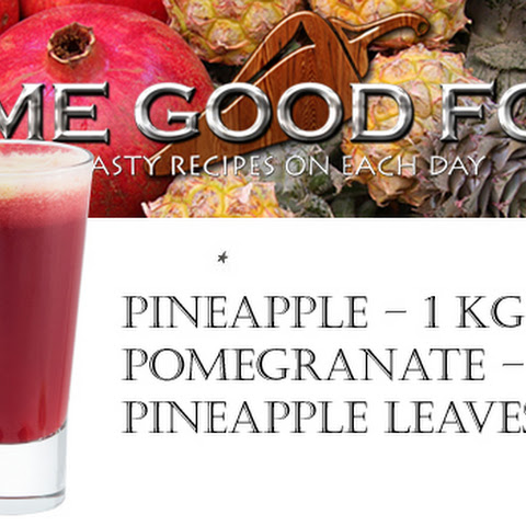 Fresh with Pineapple and Pomegranate