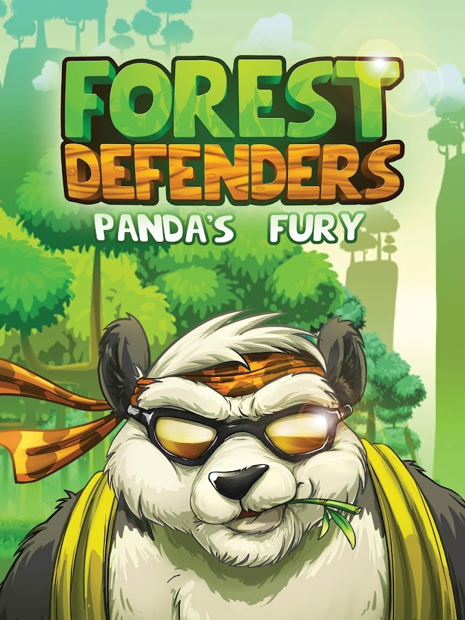 Forest Defenders: Panda's Fury Screenshot 1