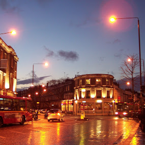 Chelsea by Zaza Rubio - City,  Street & Park  Street Scenes