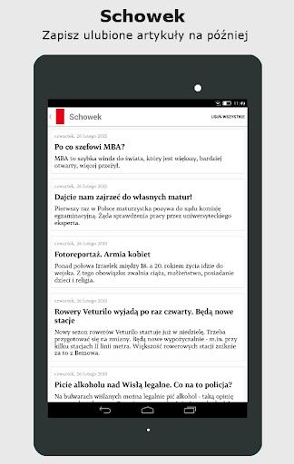 Gazeta Wyborcza - screenshot