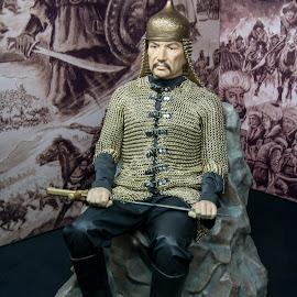 Alparslan by Ercan Kuru - Digital Art People ( statue, heykel, beeswaxstatue, balmumuheykel )
