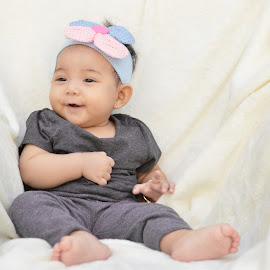 My Girl by Taufik Purnomo - Babies & Children Babies ( baby portrait, baby girl, baby, baby photography, baby shoot )