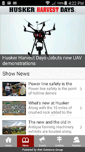 Husker Harvest Days Show - screenshot