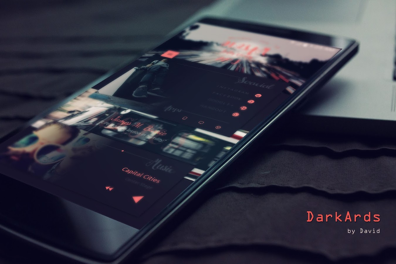DarkArds for KLWP Screenshot 1