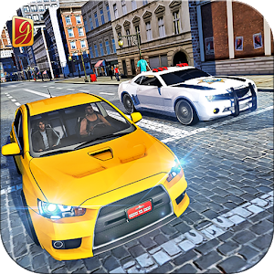 City Taxi Pick & Drop Simulation Game Icon