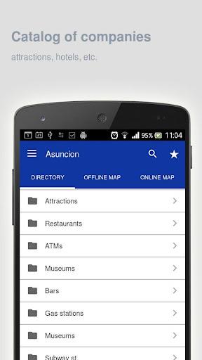 Asuncion Map offline screenshot 2