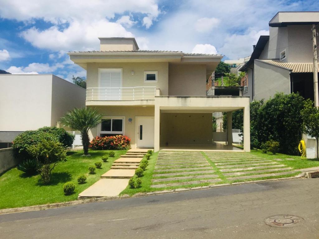 Casa com 3 dormitórios para alugar, 300 m² por R$ 4.000/mês - Condomínio Residencial Água Verde - Atibaia/SP