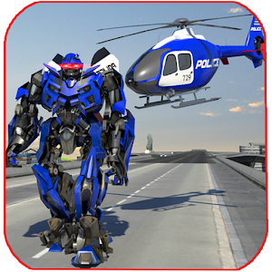 Police War Robot Superhero For PC