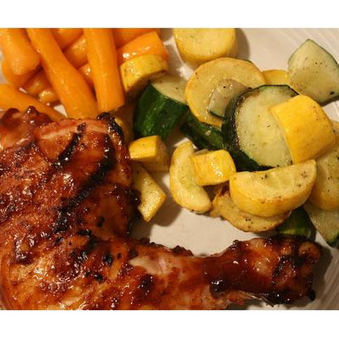 Grilled Glazed Chicken
