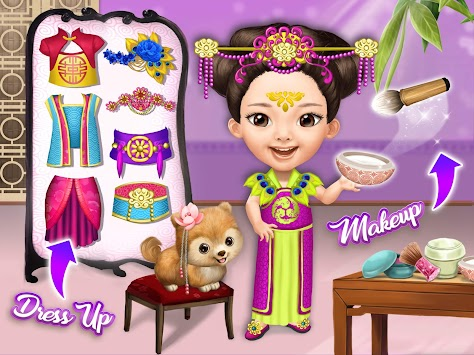 Pretty Little Princess - Dress Up, Hair & Makeup APK screenshot thumbnail 12