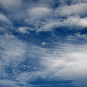 Mystical Moon by Jared Van Bergen - Landscapes Cloud Formations ( clouds, photos, moon, mystical, photography )