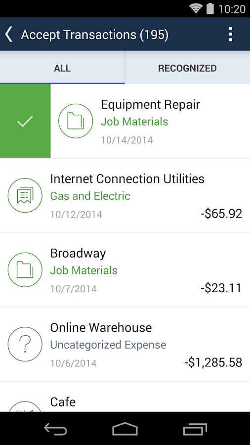 QuickBooks Accounting+Invoice Screenshot 6