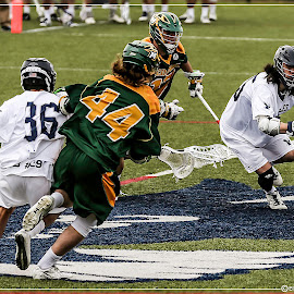 Midfield Shuffle by Elk Baiter - Sports & Fitness Lacrosse ( green terror, university of mary washington, umw, midfielder, eagles, lacrosse, mcdaniel college )