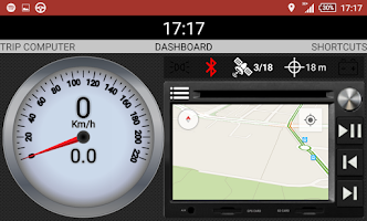 Screenshot of CarAuto BT: Bluetooth Car Home