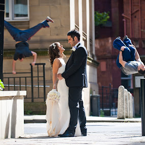 by Steve McNiven-Photography - Wedding Bride & Groom ( jewish wedding photographer, leeds wedding photographer, wedding photographer )