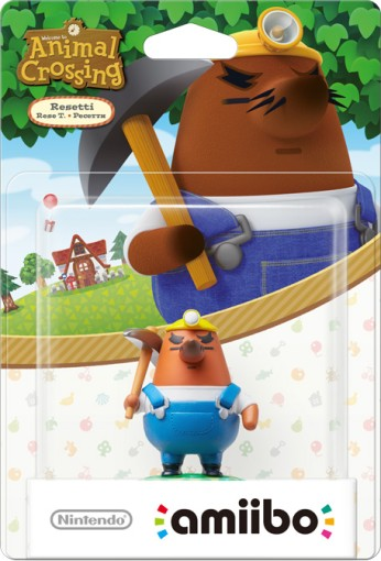 Resetti packaged (thumbnail) - Animal Crossing series