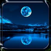 Mondschein Live Hintergrund