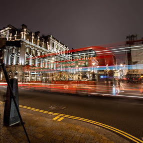 Regent Street, London by Neil Hannam - City,  Street & Park  Street Scenes