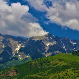 clouds & rock by Mukesh Kumar - Landscapes Mountains & Hills