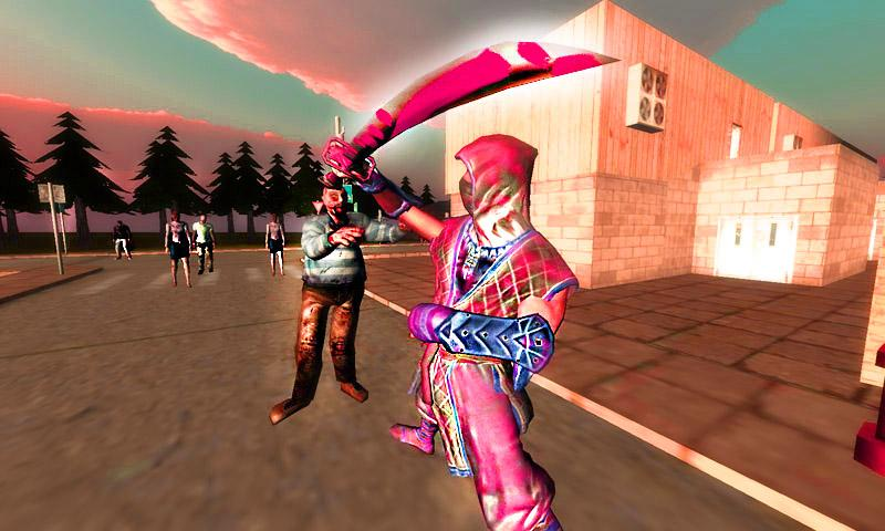 Ninja vs Zombie Screenshot 0