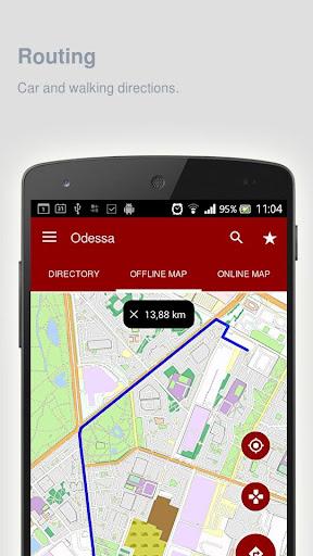 Odessa Map offline - screenshot