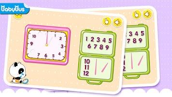 Screenshot of Time Telling Fun by BabyBus