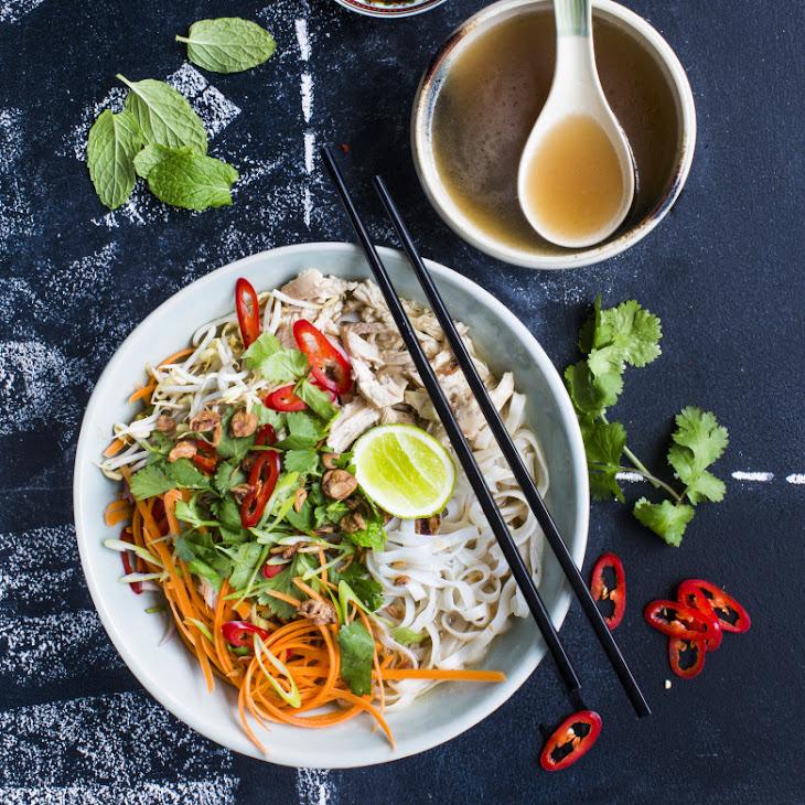 Vietnamese chicken noodle soup (Pho Ga) Recipe | Yummly