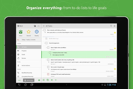 MyLifeOrganized- screenshot thumbnail