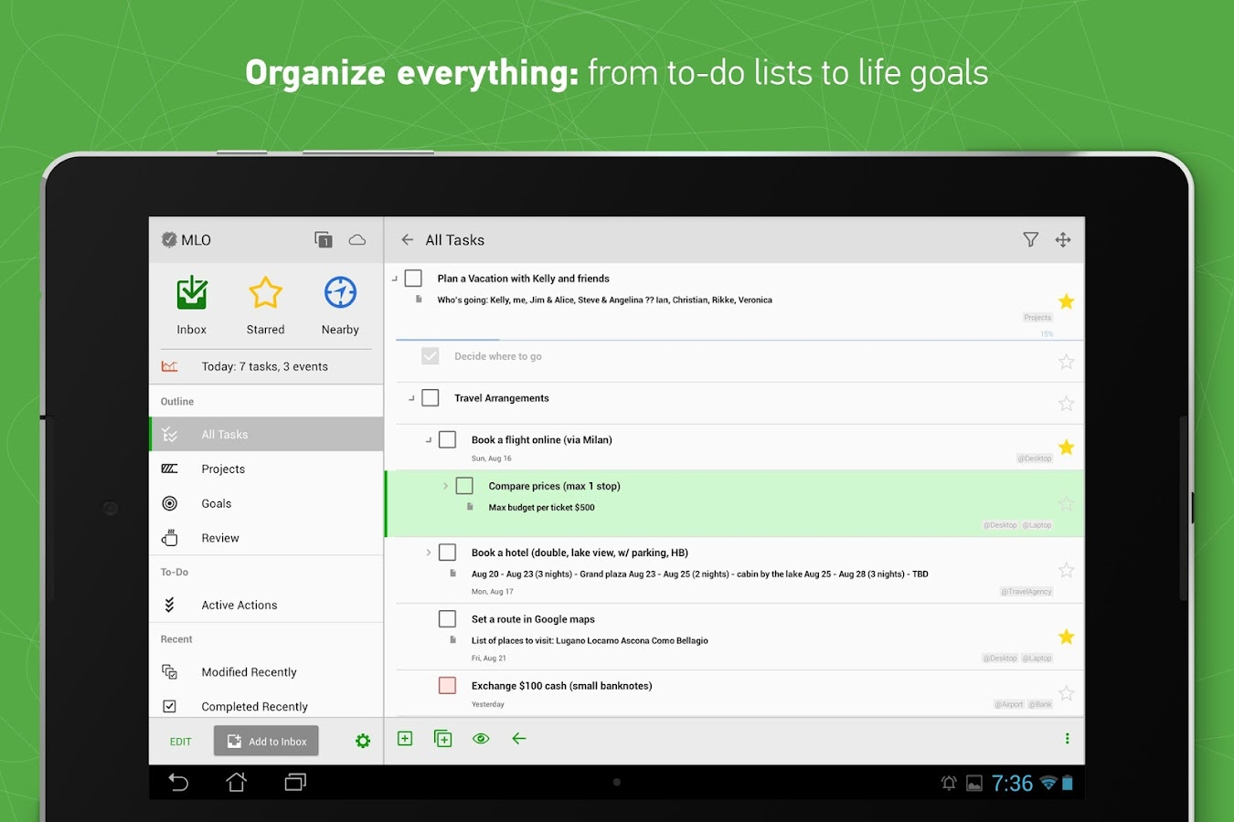 MyLifeOrganized: To-Do List Screenshot 7
