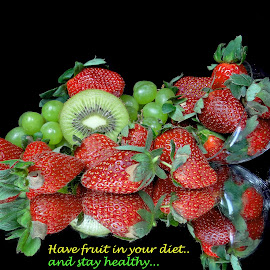 Have fruit... by Asif Bora - Typography Quotes & Sentences