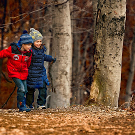 How beautiful this world! by Andrija Vrcan - Babies & Children Toddlers ( wood, children,  )