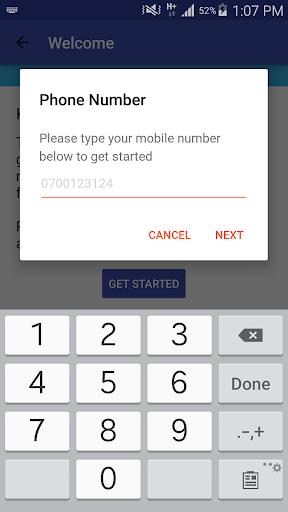 Saida - Loans to your M-Pesa screenshot 3
