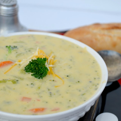Broccoli & Cheese Potato Soup